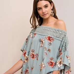 Entro baby doll tunic/top